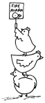 Dickens' Chickens